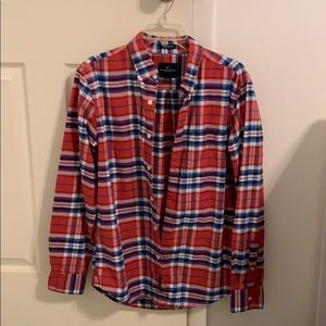 Long Sleeve Button Up Flannel